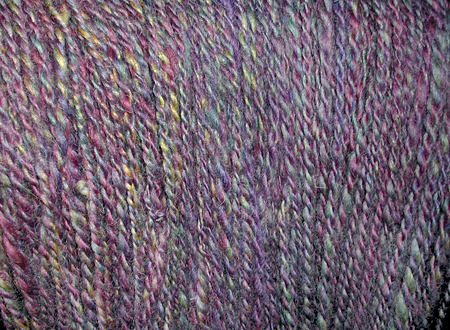 leicester yarn multi colored